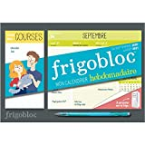 Mini Frigobloc hebdomadaire 2021 - Calendrier d'orga. familiale / semaine (sept. 2020- août. 2021)