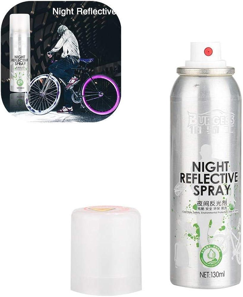Farbspray Night Reflective Spray Paint Reflektierende Sicherheitsmarkierung Anti Accident Sicherheits Spray Für Bike Silver Bekleidung