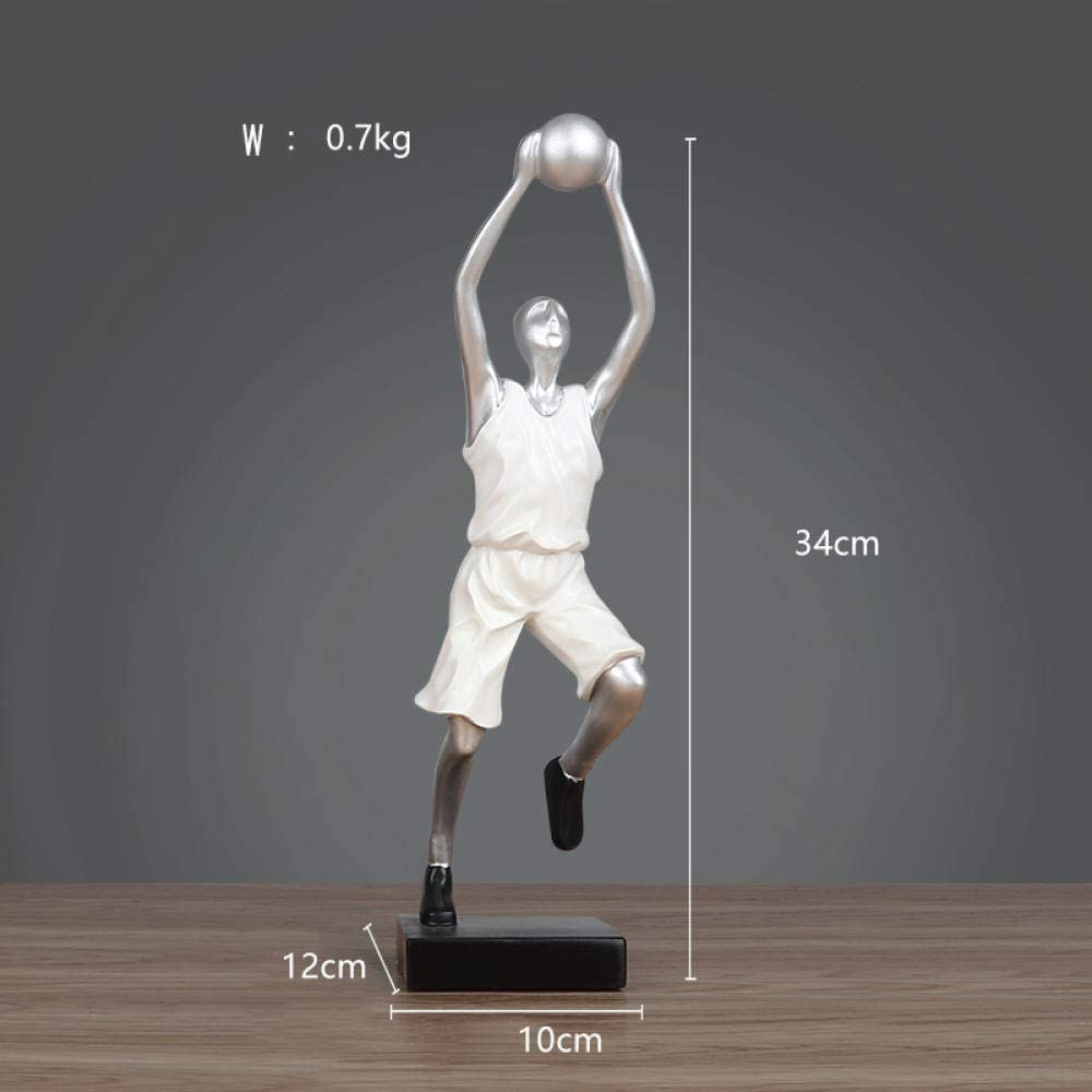 Figurine Japan Maker New Animal Statue Ornaments Dec Players Shooting Basketball New mail order