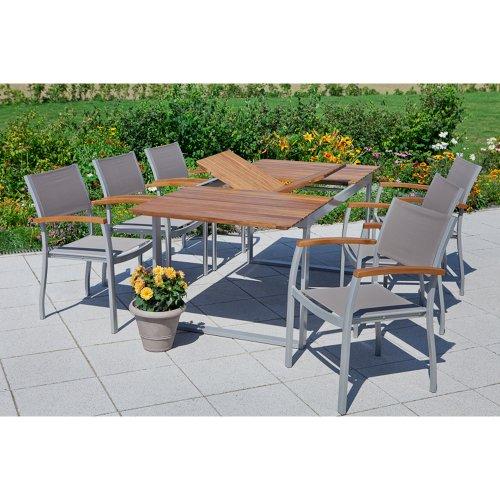 MERXX Tisch ausziehbar von 160 auf 220 cm