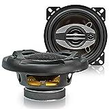 Upgrade Lautsprecher 100mm für Audi 80 Cabrio (B4) (91-95) Koax Heckbereich