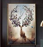 YWCVR Leinwände Bild Bilder Poster Plakat Leinwanddruck