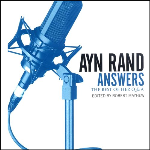 Ayn Rand Answers audiobook cover art