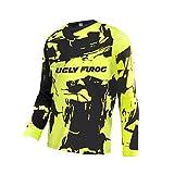 Uglyfrog Thermique Maillot Maillot de Cyclisme pour Homme Séchage Rapide Respirant Maillot de Vélo Manches Longue O01