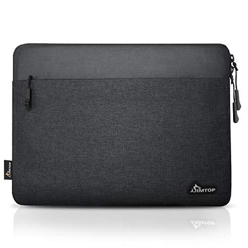 SIMTOP - Funda protectora para portátil MacBook Pro de 13 pulgadas, compatible con MacBook Air de 13 pulgadas, compatible con MacBook Air13.3, modelo A1369 A1466, MacBook Pro13 A1502 (negro)