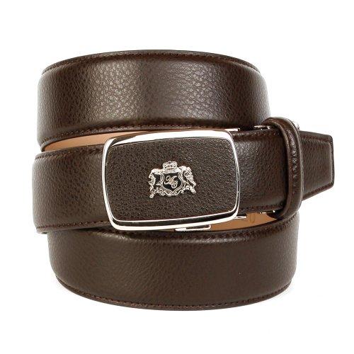 Anthoni Crown, ceinture homme 90-120cm, 3,5cm largeur brun