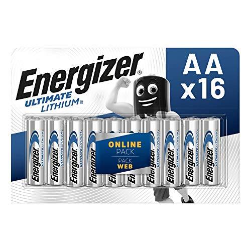 Energizer Batterien AA, Ultimate Lithium, 16 Stück