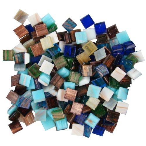 Top glass mosaic tiles for crafts amber for 2021