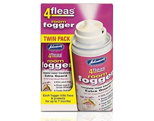 Johnsons 4fleas - Paquete doble de 2 unidades de 100 ml