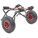 Conwy Kayak Foldable Canoe Cart Trolley 120kg Load Pneumatic Tyres Canoe SUP Windsurf K2