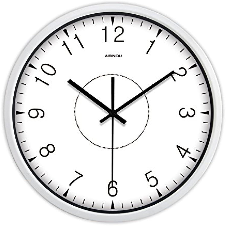 ahorrar en el despacho Moderno, innovador y elegante salón salón salón clásico reloj de parojo simple y tranquilo estudio reloj de cuarzo en la Tabla 12   60% de descuento