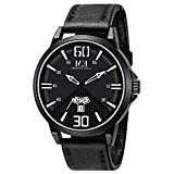 Father's Day Gift Menton Ezil Mens Watches Sapphire Crystal Leather Band 50M Waterproof Classic Analog Quartz Wrist Watches