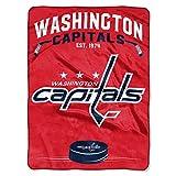 NHL Washington Capitals 'Inspired' Raschel Throw Blanket, 60' x 80'