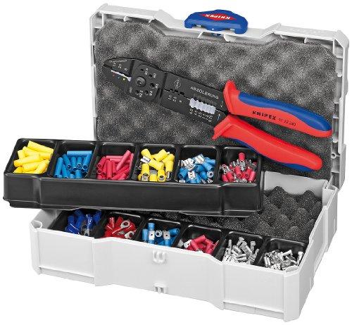 KNIPEX 97 90 25 Assortiment de sertissages pour raccords de câble
