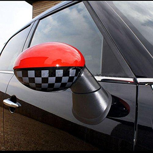 LVBAO Interior Door Handle Cover Caps For Mini Cooper JCW ONE S F56 Hatchback F57 Covertible F56 F57, JCW