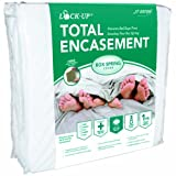 JT Eaton 80FULBOX Lock-Up Total Encasement Bed Bug Protection for Full Size Box Spring