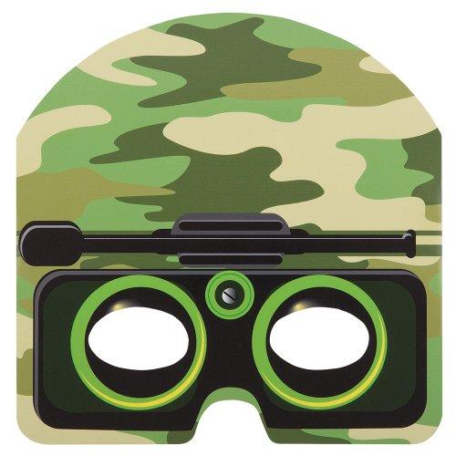 Unieke partij Militaire Camo Gezichtsmaskers (Pack Of 8)