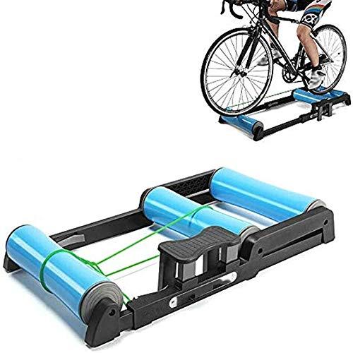 Plataforma De Ciclismo Con Rodillos, Plataforma Entrenamiento Bici Rodillo De Bici Soporte Entrenador Bici Ajustable Para Bici Carretera Equipo Fitness Interior Para Perder Peso Y Grasa