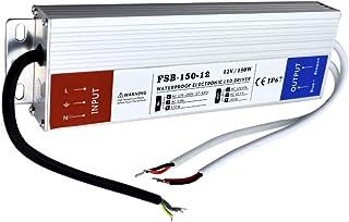 Transformateur LED /étanche IP67 12 V 60 W 5 A Bo/îtier en alliage daluminium pour bande lumineuse LED IP67 60 W module LED et /éclairage DC ext/érieur