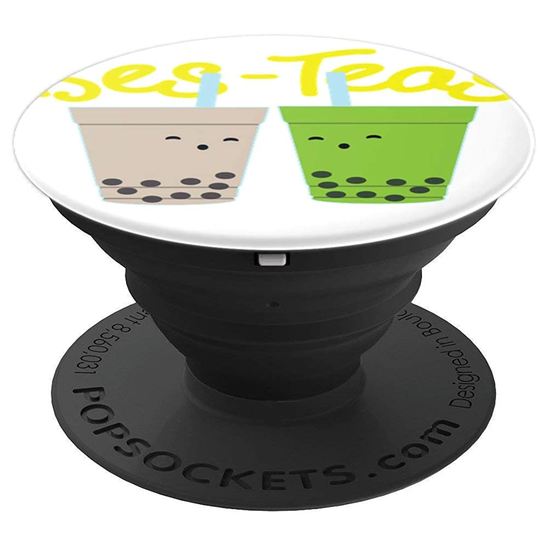 Bes-Teas - Besties Best Friends Bubble Tea Boba Cute T Shirt PopSockets Grip and Stand for Phones and Tablets
