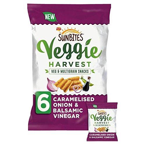 Sunbites Veggie Harvest Onion & Vinegar Snacks 25g x 6 per pack