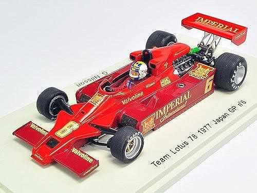 [PLANEX COLLECTION   Funken 1 43 Lotus Ford 78 Nr. 6 1977 Japan GP G. Nilsson (Japan Import)