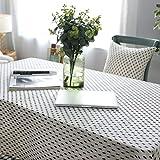 DJUX Home Decoration Tablecloth Simple modern Art Cotton and Linen Black small fir...