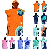 TEAM MAGNUS Kids' Towel and Bathrobe – Stylish Bath Towel Design for Kids 4'-5'6'