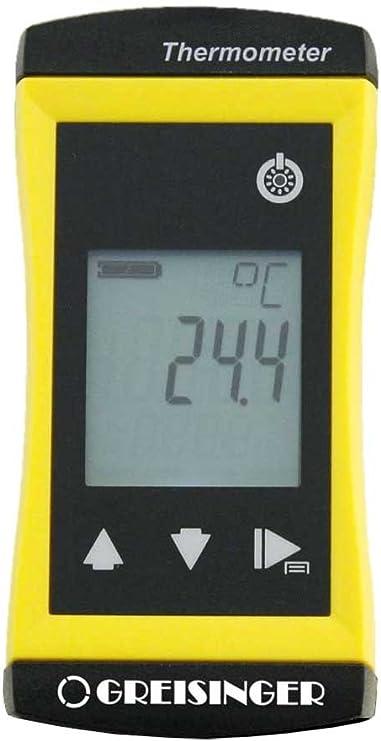Ghm Greisinger Precise Universal Thermometer With Safe Rainbow Ndenem Einstechfühler Diameter Yellow Baumarkt