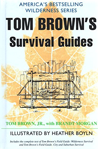 Tom Brown's Survival Guides: Wilderness Survival and City and Suburban Survival by Tom Brown (1985) Gebundene Ausgabe