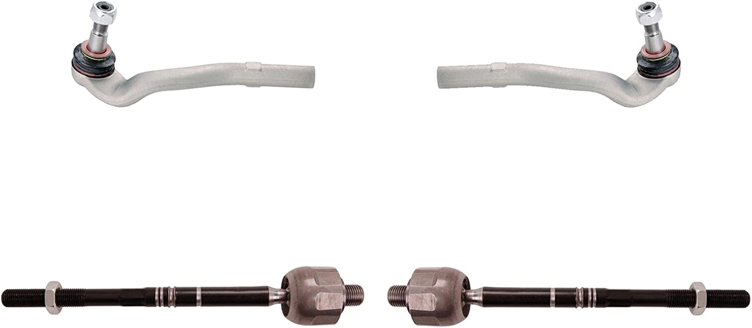 Sidem Front Limited time trial price Inner and Outer Steering Tie End Compatible kit Rod Ranking TOP1