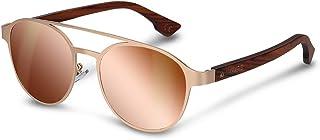 ff623a30cf Navaris Gafas de sol estilo aviador- Gafas clásicas para hombre y mujer con  patillas de