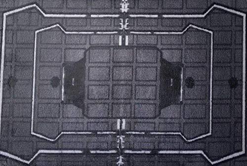 oooooo Alfombra de patrón geométrico de Laberinto a Cuadros Negro,Absorbente para el baño de la habitación de los niños,cojín de Franela Suave Antideslizante Duradero,Lavable a máquina