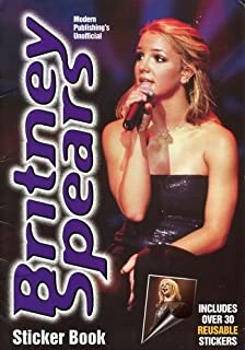 Unofficial Britney Spears Sticker Book