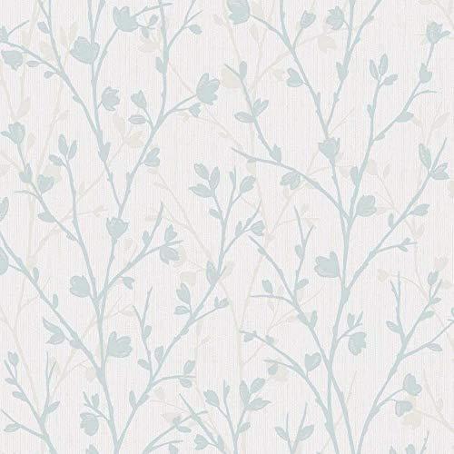 Fine Décor FD42160 Twiggy - Papel pintado para pared, color azul