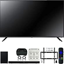 TCL 75R617 75-inch 6-Series 4K UHD Dolby Vision HDR Roku Smart TV (2019) Bundle Alto 7+ 2.1 Channel Sound Bar, Wireless Keyboard, Deco Mount Wall Mount Kit and 6-Outlet Surge Adapter
