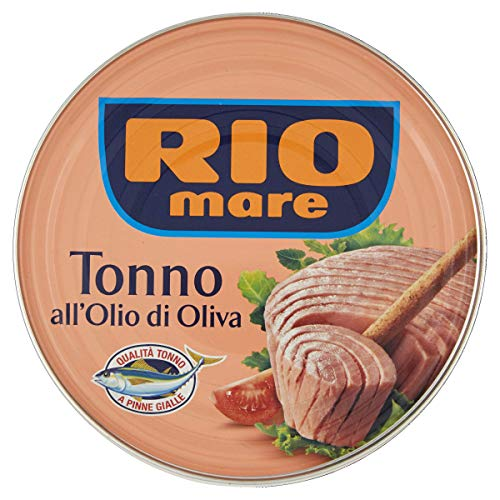 Rio Mare - Tonno all'Olio di Oliva, Qualità Pinne Gialle, 1 Lattina da 500 g
