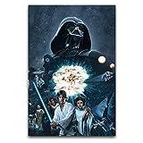Star Wars Luke Skywalker Princess Leia Poster, dekoratives