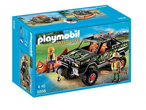 PLAYMOBIL 5558 - Wild Life Pick Up Abenteuer, Mehrfarbig