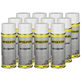 12x Kettenspray Kettenfett 400 ml für O-Ring-Ketten geeignet transparent