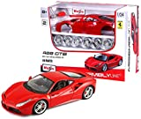 Bburago Maisto France - M39131 - Maquette - Ferrari 488 GTB en kit à monter