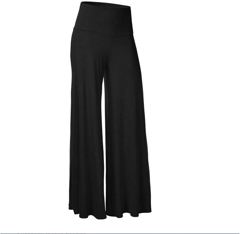 Women Loose Wide Leg Pants High Quick D Breathable Waist Elastic Sale Albuquerque Mall