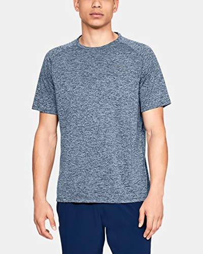 Under Armour UA TEAM ISSUE WORDMARK Short Sleeve, T-Shirt Homme, Gris (Charcoal Medium Heather/Mod Gray (021)), 2XL