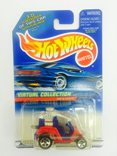 #2000-117 Tee'd Off Virtual Collection Collectible Collector Car Mattel Hot Wheels 1:64 Scale by Mattel (English Manual)