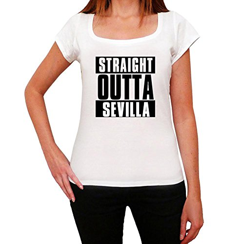 One in the City Straight Outta Sevilla, Camiseta para Mujer, Straight Outta Camiseta, Camiseta Regalo