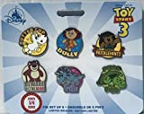 Toy Story 4 Pin set of 6 - Series 3 of 4 - dolly, pricklepants, lotso, trixie, buttercup, 3 peas