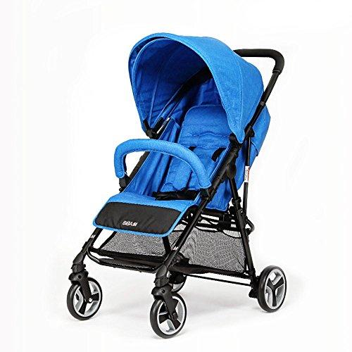 BIBA Single Stroller (Royal Blue)