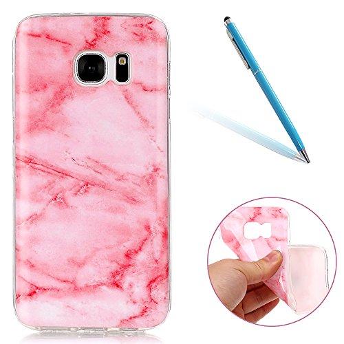 """Compatibilidad: Es perfecta para el 5.1"""" Samsung Galaxy S7/G930F Material: Hecho de la alta calidad durable TPU para la mejor absorción de choque, antideslizante, anti-rasguñe la protección. Ajuste perfecto: ultra-delgado con diseño de peso ligero qu..."""