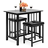 Best Choice Products 3-Piece Counter Height Dining Table...