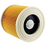 Image of SPARES2GO Premium Filter Cartridge for Karcher WD2 WD3 WD3P Wet & Dry Vacuum Cleaner